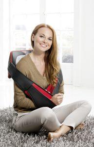 Massagekudde Casada Miniwell Twist 2 Go modell straps