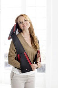 Massagekudde Casada Miniwell Twist 2 Go modell straps2