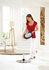 Massagekudde Casada Miniwell Twist 2 Go modell stående